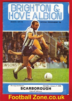 Brighton Hove Albion v Scarborough 1978 - FA Cup