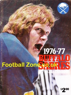 Buffalo Sabres Ice Hockey Official Year Book 1976 - 1977