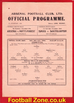Arsenal v Portsmouth 1945 - War League South