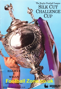 Halifax Rugby v Wigan 1988 - Challenge Cup Final