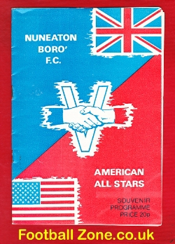 Nuneaton Borough v American All Stars 1965 - Opening Floodlights