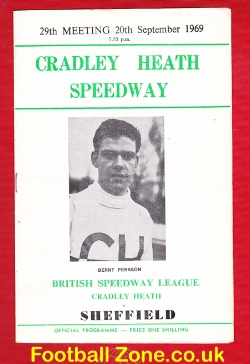 Cradley Heath Speedway v Sheffield 1969 - Bernt Persson