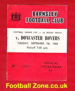 Barnsley v Doncaster Rovers 1965