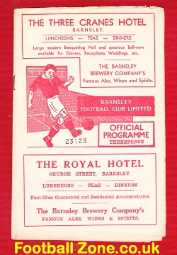 Barnsley v Doncaster Rovers 1956
