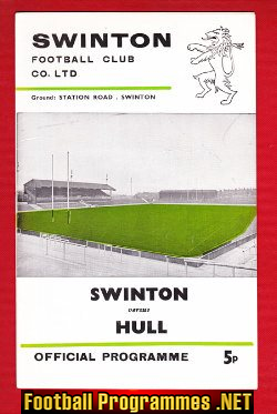 Swinton Rugby v Hull 1975