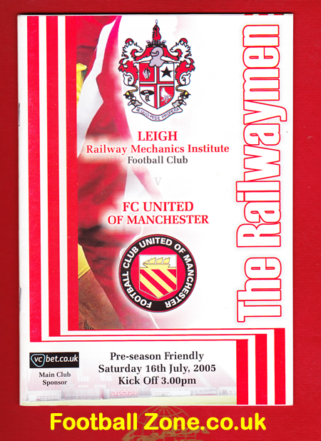Leigh Football Club v FC United Of Manchester 2005 - First Match
