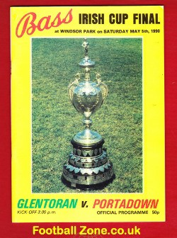 Glentoran v Portadown 1990 - Irish Cup Final