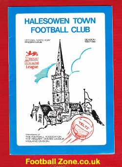 Halesowen Town v Leicester United 1987 - FA Cup