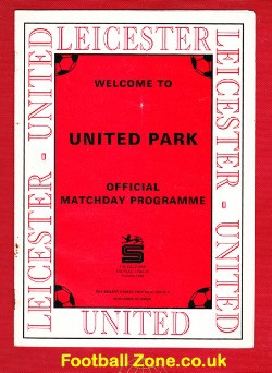 Leicester United v Moor Green 1993 - Midlands Division