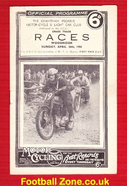Grass Track Speedway at Woodnook 1950