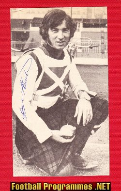 Scotland Speedway Rider George Hunter Signed Picture Autograph