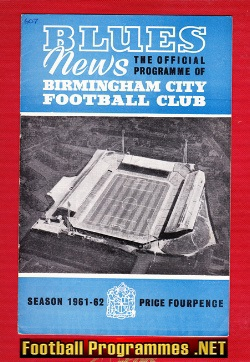 Birmingham City v Ipswich Town 1962 - League Champions Season