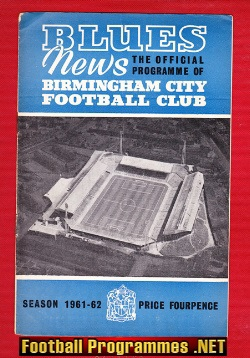 Birmingham City v Nottingham Forest 1961