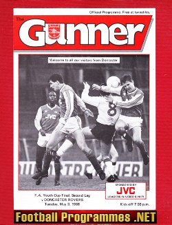Arsenal v Doncaster Rovers 1988 - Youth Cup Final 2nd Leg