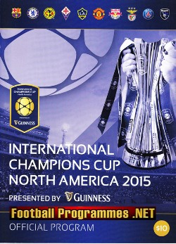 America USA International Champions Cup + Man Utd + Chelsea 2015