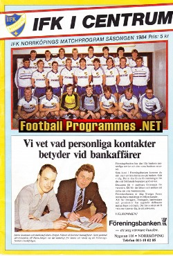 IFK Norrkoping v Wolves 1984 - Friendly Match Sweden