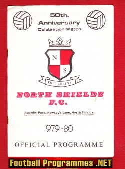 North Shields v Newcastle United 1979 - 50th Anniversary Match