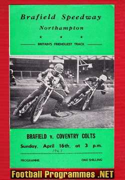 Bradfield Speedway v Coventry 1967