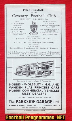 Coventry Rugby v Loughborough City 1961