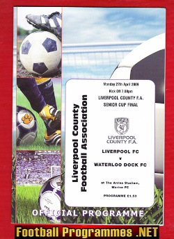 Liverpool v Waterloo Dock 2009 - Senior Cup Final at Marine