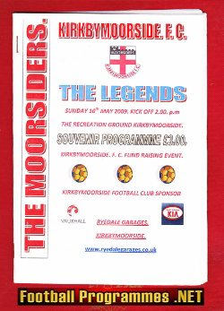 Kirkbymoorside v The Legends 2009 - Gazza - Robson - Pallister