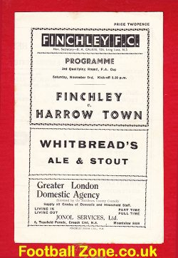 Finchley v Harrow Town 1946