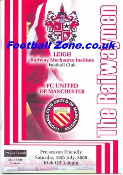 Leigh Football Club v FC United Of Manchester 2005 - FIRST