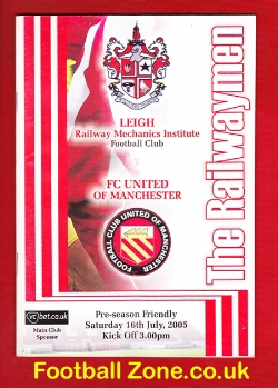 Leigh Football Club v FC United Of Manchester 2005 - 1st Match