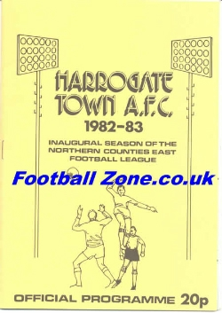 Harrogate Town v Man Utd 1983 - Friendly Match