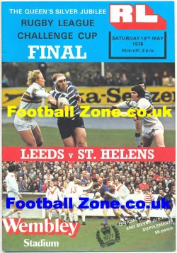 Leeds Rugby v St Helens 1978 - League Cup Final