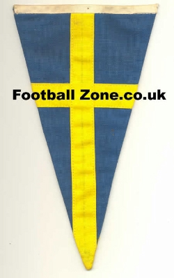 Sweden Old Cloth Speedway Pennant