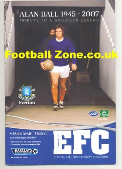 Everton v Man Utd 2007 - Alan Ball Special Tribute