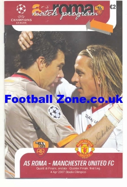 AS Roma v Man Utd 2007 - Pirate